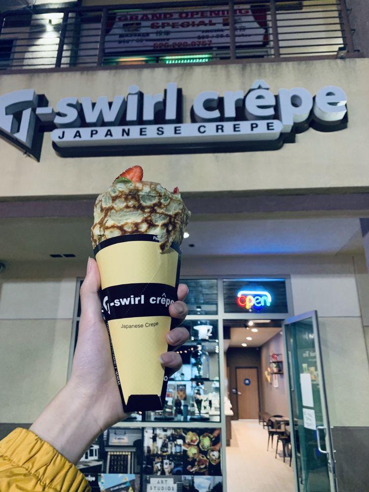 T-Swirl Crepe